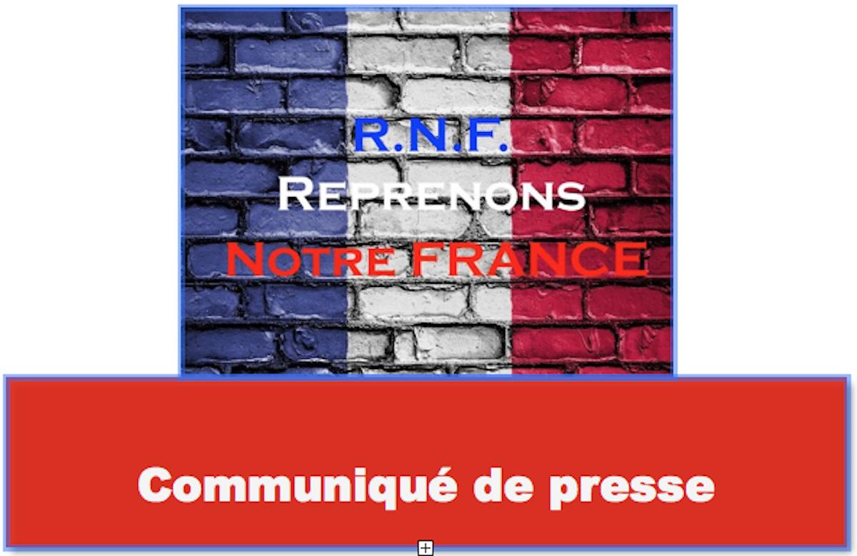 Communiqué de presse RNF
