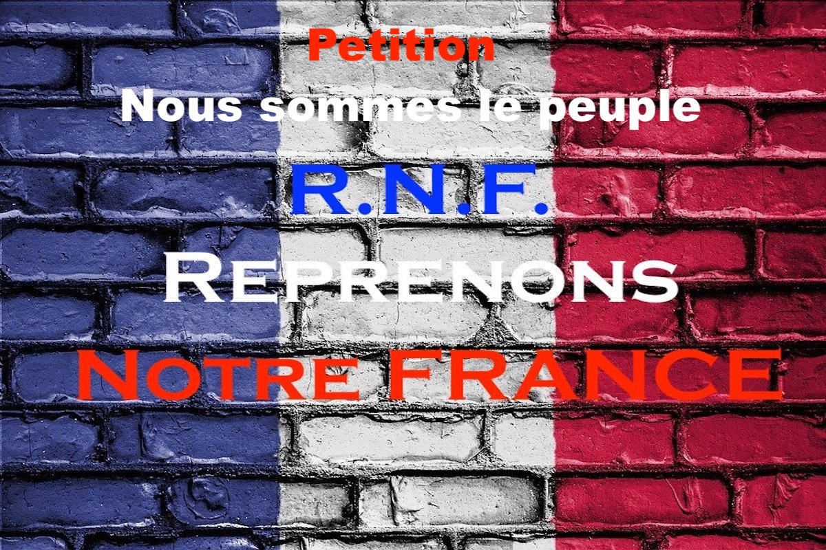 La pétition RNF